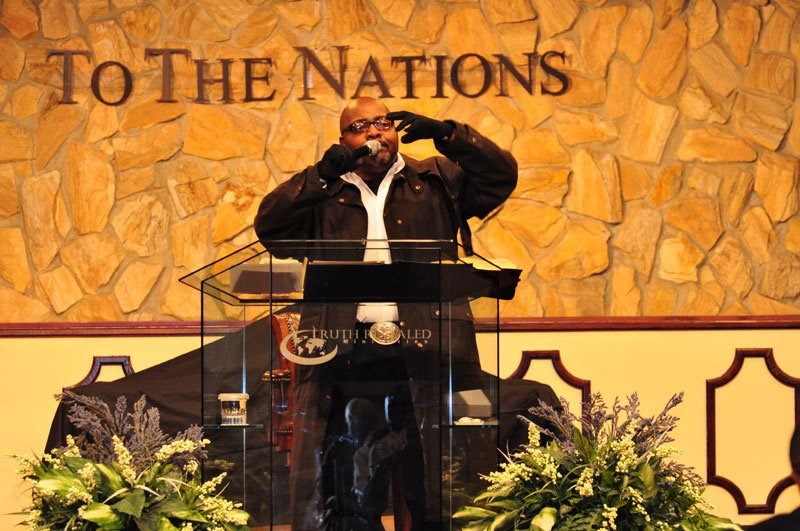 Bishop Clark June 2012 at Kingdom Life Christian Fellowship